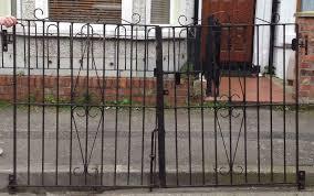 heavy duty double gates