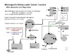 diesel tractor wiring diagram wiring diagram for a 12 volt mm u