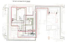 thesamba com type 2 wiring diagrams 1972 vw bus wiring diagram 1971 Vw Bus Wiring Diagram #28
