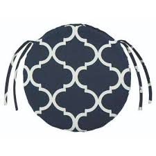 Stunning Round Outdoor Seat Cushions Geometric Chair