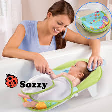 sozzy collapsible baby bath bed bath tub bath chair bath towels safe and comfortable for baby gd 205