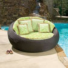 wicker and rattan outdoor furniture rattan garden pool lounge chair cushions