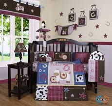 Amazon.com : Boutique Horse Western Cowgirl 13PCS CRIB BEDDING SET :  Nursery Bedding Cowgirl : Baby