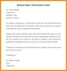 Generic Termination Letter New Employee Appeal Letter Against Dismissal Template Termination Sales
