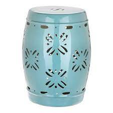 safavieh sakura 18 in aqua ceramic