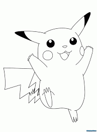 Download Pokemon Coloring Pages Pikachu And Two Friends Are Cute