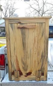 wood outdoor trash can holder plans diy outdoor garbage can rack outdoor garbage can rack plans wooden trash can holder reclaimed woodhandmade trash