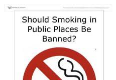 should smoking be banned in public places essay education ban smoking in public places essay ielts buddy