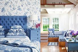color diary decorating blue and white