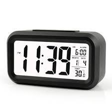 Hello Kitty Digital Am Fm Clock Radio With Night Light Amazon Com Fieans Snooze Alarm Temperature Smart Night