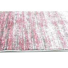 pink and gray geometric rug grey network rugs contemporary stripe for nursery baby area blue