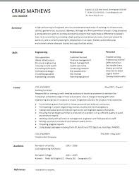 Resume Template Canada Resume Template Resume Format In Free ...