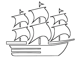 beautiful boat coloring pages for kids - Coloring Point