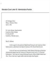 Cover Letter School Administrator Public School Administrator Resume Outstanding Cover Letter Examples