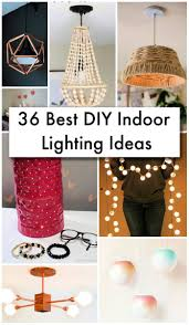 36 Best Diy Indoor Lighting Ideas Diy Home Decor Ideas Diy Crafts