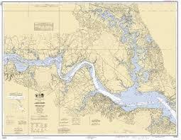 Potomac River Depth Chart James River Jamestown Island To Jordan Point Marine Chart