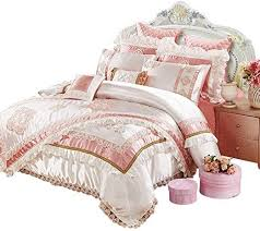 luxurious pink bedding duvet cover sets