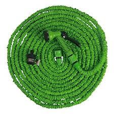 flexible garden hose. Freefisher Expandable Flexible Garden Hose Pipe And Spray Gun 100FT E