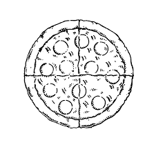 pizza slice clipart black and white. Contemporary Clipart Images For Black And White Slice Of Pizza Throughout Clipart