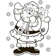 Small Picture Santa Coloring Page Free Christmas Recipes Coloring Pages for