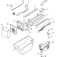 Diagram ice maker wiring large size neat suggestions diagrams refrigera circuit pdf flake machine kit control