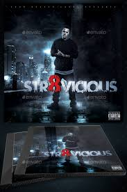 Straight Vicious Mixtape Cd Cover Template By Yellow_emperor