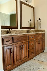 Kitchen Cabinets In Bathroom Rustic Hickory Bathroom Vanity Cabinets Rustic Hickory Appears