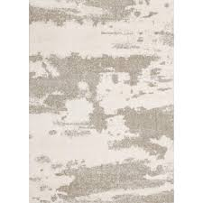 renwil alberto white beige 5 ft x 7 ft indoor area rug