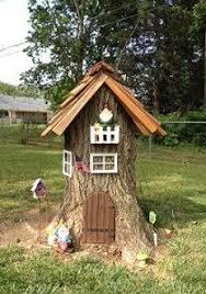 Petite Maison Tronc Du0027arbre Trompe Lu0027oeil