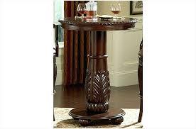 round wood pub table wood top round pub table by silver from wood top round round wood pub table