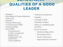 Short Essay On Leadership Effective Leadership Essay Major Magdalene Project Org