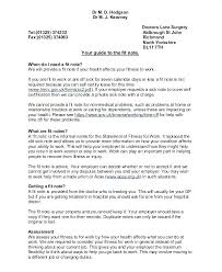 Resume Doctors Doctors Notes Examples Sample Doctor Fit Note Resume