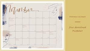 November Through November Calendars November 2018 Content Calendar Planoly