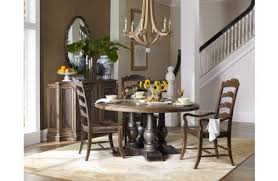 furniture 5pcs applewhite 60 round dining table dining room set in dark wood