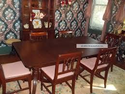 1950 Dining Room Furniture Vintage Dining Room Sets Vintage Mahogany Dining Room Set 1900