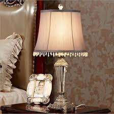 Lamp Bedroom Aliexpresscom Buy Webetop Vintage Crystal Table Lamps Fashonial