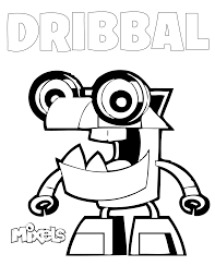 Small Picture Mixels Coloring Pages Erics Activity Pages Page 2