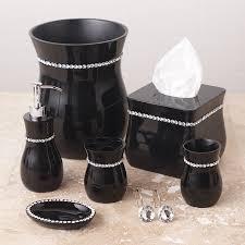 Black Bathroom Accessories Bathroom Black Bathroom Accessories Kit Black Bathroom Design
