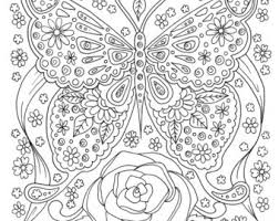 Small Picture Instant Download Coloring Page Adult Coloring Flamingo Florida