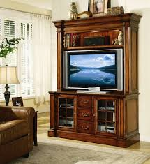 55 entertainment center. Beautiful Entertainment Waverly Place 60Inch Entertainment Console With Hutch In Distressed Cherry  Finish By Hooker Furniture HF36655580 To 55 Center N
