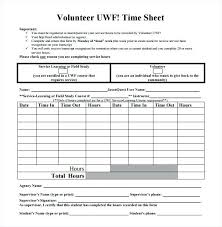 Volunteer To Download Generic Hours Form Community Service – Vuezcorp