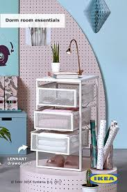 ikea dorm furniture. Replace Clunky Dorm Furniture With Sleek, Simple Pieces Like The IKEA LENNART Drawer Unit To Keep Your Small Space Organized. Ikea S