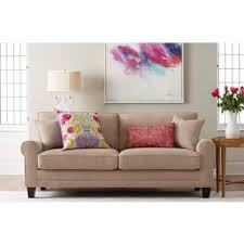 sofa or couch. serta copenhagen microfiber 73inch deepseating sofa or couch