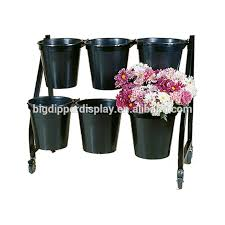 Floral Display Stands Classy Bddflw332 32 Tier 32 Bucket Stand Mobile Floral Display Stands Iron