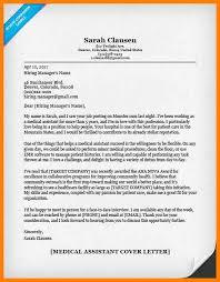 10 Cover Letter For Medical Assistant Position Hr Cover Letter