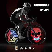 Best Bike Wheel Lights 2019 Cool Rechargeable Bicycle Bike Wheel Light Smart Intelligent Bike Cycle Spoke Light Bicycle Hub Light Led Light From Pings1016 35 18