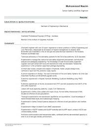 certified fire protection engineer sample resume safety resume  certified fire protection engineer sample