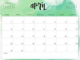 write in calendar 2018 april 2018 monthly blank printable calendar april 2018 calendar