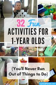 32 Fun Activities for 1-Year Olds (You'll Never Run Out of Things to ...