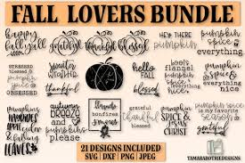 We provide free svg files. Autumn Bundle Fall Graphic By Tamarabotriedesigns Creative Fabrica
